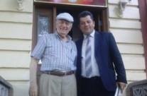 """Kryetari i Vatrës priti drejtorin Ekzekutiv të Institutit """"Shtëpia e Drejtësisë dhe Pajtimit Kombëtar"""""""