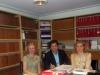 Ne studion ligjore te LOUTH RUPERT,AGIM LOCI nEe nje takim pune